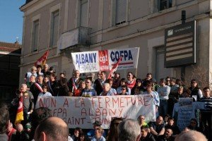 Albany : la solidarité et la lutte s'amplifient à Saint-Junien... mais la direction s'entête à vouloir fermer dans Actu albany-1-300x200
