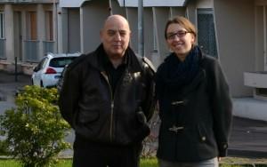 Patrick Charles et Aurélie Brajoux
